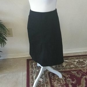 J.JILL nwt black pencil skirt size large